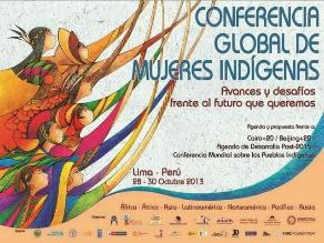 Mujeres indígenas se reúnen en Lima para demandar erradicar violencia