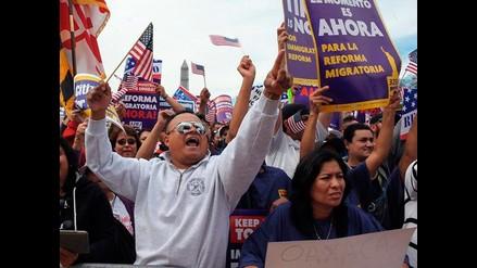 Grupos pro inmigrantes se congregan en Washington para exigir reforma