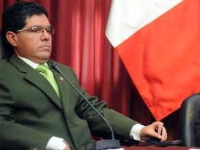 Urtecho oficializó pedido de levantamiento de inmunidad parlamentaria