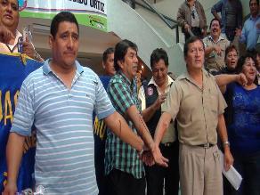 Chiclayo: Vuelve la calma a municipio luego de protesta de empleados