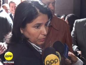 Susana Cuba:  No he hablado con Pablo Zegarra ni con su representante