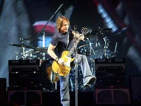 Keith Urban cantará durante el evento de nominaciones de los Grammy