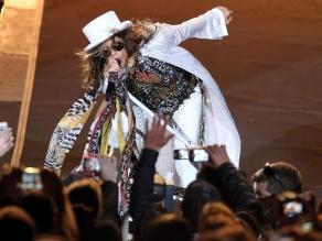 Uruguay vibró con el rock sin fecha de caducidad de Aerosmith