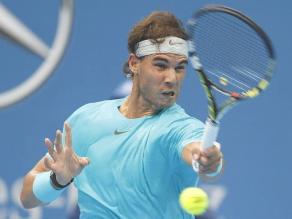 Rafael Nadal derrotó a Berlocq y avanzó a cuartos de final en Shanghai