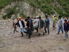 Tarma: Minero informal perdería la mano al caerle roca pesada