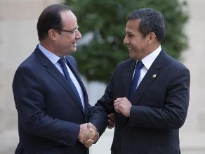 ¿Para qué se reunió Humala con el presidente de Francia?