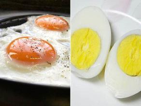 Frito o sancochado: ¿cuál es la mejor manera de comer huevo?