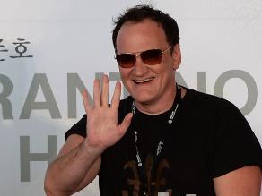 Tarantino en el 18° Festival Internacional de Cine de Busan en Corea