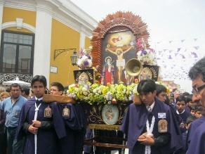 Trujillo: Niños y adolescentes cargarán andas del Señor de los Milagros