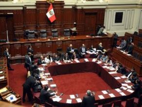 Eligen a miembros de Subcomisión de Acusaciones Constitucionales