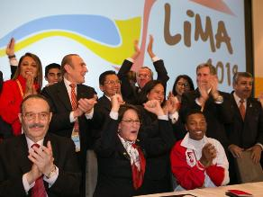 Así se celebró la elección de la sede de los Juegos Panamericanos 2019