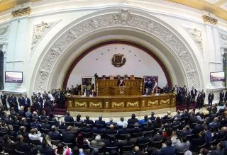 Chavismo pide sancionar a diputados opositores por interrumpir a Maduro