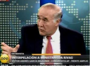 García Belaunde: no hubo infracción constitucional en viaje presidencial