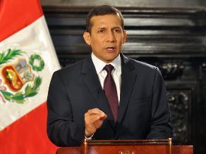 Ollanta Humala celebra elección de Lima como sede de Panamericanos