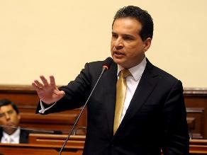 Chehade tilda de aprovechamiento político pedido de censura a Rivas