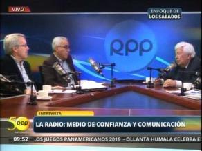 La radio, medio de confianza y comunicación