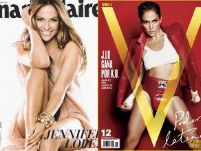 Las portadas más sensuales de la latina más poderosa de EEUU: JLo