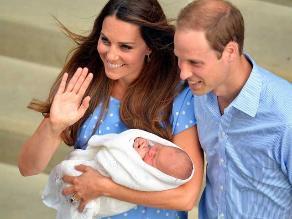 Duques de Cambridge eligen a amigos como padrinos del príncipe Jorge