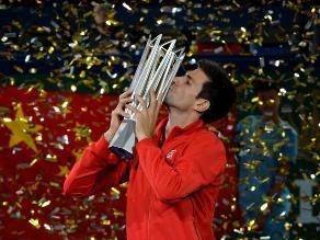 Djokovic vence a Del Potro y gana el Masters de Shanghái por segunda vez