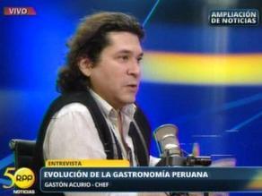 Gastón Acurio critica sistema legal por ´frustrar sueño de los jóvenes´
