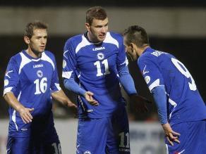 Bosnia con Edin Dzeko sella su clasificación al Mundial de Brasil 2014