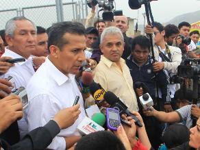 Humala: No hemos cometido infracción constitucional ni legal