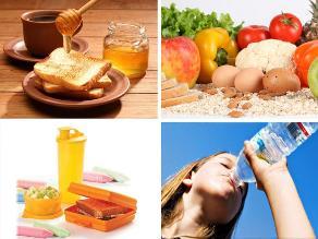 Diez tips para una alimentación saludable
