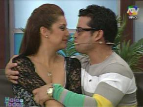 Christian Domínguez tras ampay: ese fue el primer beso con Karla
