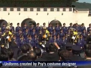 Corea del Sur: Policías bailan al ritmo del Gangnam Style