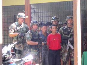 San Martín: Capturan a dos integrantes de Sendero Luminoso