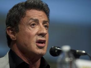 Pagan más 400 dólares para tomarse una foto con Sylvester Stallone
