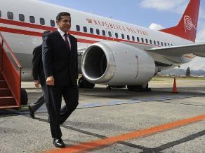 Jefe del Estado recibe a expresidente de Uruguay Tabaré Vázquez