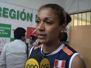 Vanessa Palacios: Con la incorporación de Ángela Leyva mejoramos mucho