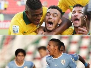 Brasil y Uruguay golean en su debut en el Mundial Sub 17