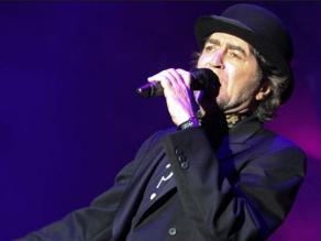 Joaquín Sabina interrumpe concierto por fuerte dolor