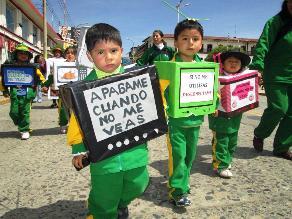 Junín: Pobladores malgastan el 50 % de la energía eléctrica que consumen