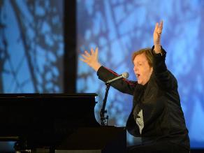 Paul McCartney improvisa un concierto en Londres