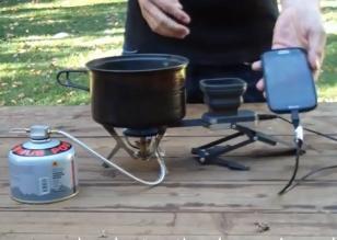 Inventan artefacto que carga batería de Smartphone con fuego
