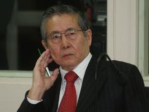Fujimori: Denuncio maltrato de parte del gobierno de Humala