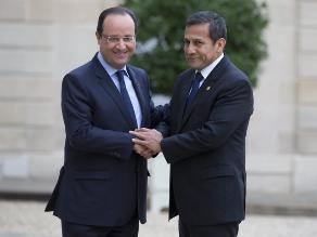 Ipsos: El 33% cree que viaje de Humala a Francia era secreto