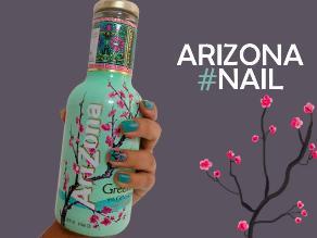 Paso a paso: Uñas primaveral al mismo estilo de Arizona