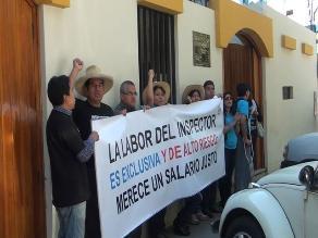 Junín: Inspectores laborales inician huelga indefinida nacional