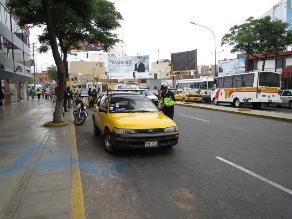 Trujillo: Inician operativos para control de taxis informales