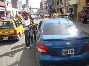 SAT anuló más de 17 mil fotopapeletas impuestas en Lima