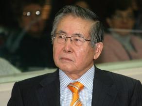 Pedido de arresto domiciliario a Fujimori será evaluado el 25 de octubre