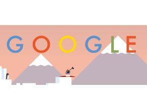 Google dedica doodle al primer salto en paracaídas