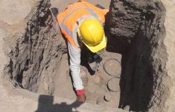 Encuentran dos nuevos entierros de la cultura Chimú en Lambayeque