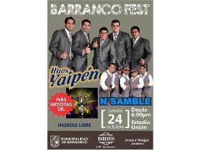 Barranco celebrará 139° aniversario con festival musical