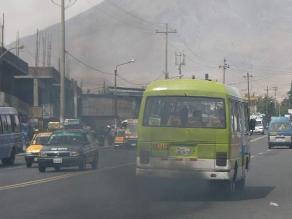 Monitorean calidad del aire en 15 zonas del territorio peruano