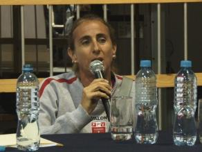 Natalia Málaga: Voy a seguir trabajando al máximo por el voleibol nacional